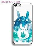 Customized My Neighbor Totoro Anime Creative Iphone 6 6s 4.7 Inch Carcasa Funda Case, Back Case &Cover For Hardshell