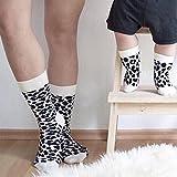 FidgetGear Stylish Parent-Child Casual Leopard Print Socks Cotton Mid-Calf Length Stockings Birthday Festival Gift