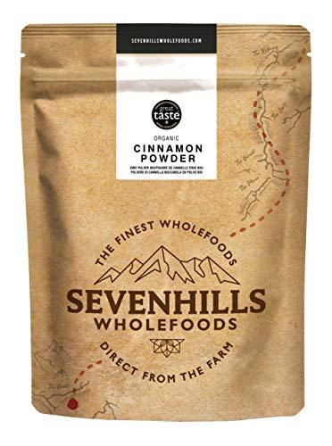 Sevenhills Wholefoods Polvere Di Cannella (Vero Ceylon) Crudo Biologico 500g