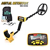 HOOMYA Professional Underground Metal Detector with All Metal and DISC Modes Gold Digger