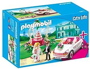 Playmobil - 6871 - Couple de Maries avec Véhicule