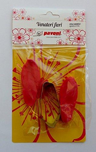 Silikonstempel &emporte-pièces en silicone avec poussoirs-magnolia pétale