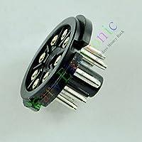Concerti Per Octal 4pc 8pin Bussola in bakelite Base Plug Test tubo EL346SN7KT886L6Amp