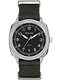 Bulova Analog Black Dial Men's Watch - 96B229