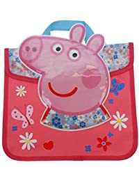 Peppa Pig Hogar Dulce Hogar margaritas Cartera