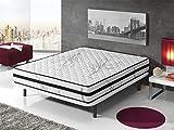 Living Sofa - Materasso Memory Foam in Fibra di Carbonio, Dimensioni: 80 x 180
