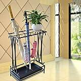 YSJ-Schirmständer Regenschirm Regale Hotel Lobby Home Kreative Bodenbelag Regen Getriebe Regenschirm platziert lagerregal Wohnaccessoires Kunst Handwerk aufbewahrungsbox (44 * 24 * 60 cm)
