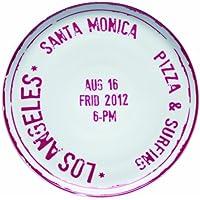 Bitossi Home MCA 7 Assiette à Pizza en Porcelaine, Los Angeles
