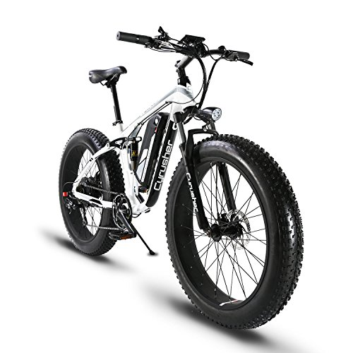 51pET0BBJ%2BL. SS500  - Extrbici XF800 1000W 48V13AH Electric Mountain Bike Full Suspension