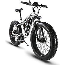 VTT Vélo électrique Hybride Homme de Montagne Extrbici XF800 1000W 48V 13A à Vente Limitée Mondiale Support de Charge USB avec Suspension Complète LCD Intelligent & Gros Pneu 26 x 4.0 Noël