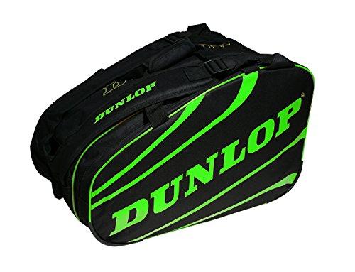 Dunlop Wettbewerb Tasche Deride Schlägertasche, Unisex Erwachsene L grün