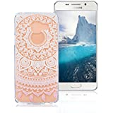 Coque Samsung Galaxy A5 2016 SM-A510F, AllDo Coque TPU Silicone pour Samsung Galaxy A5 2016 SM-A510F Etui Souple Flexible Gel Rubber Case Smooth Soft Cover Housse Ultra Mince Etui Poids Léger Lisse Couverture Anti Rayure Coque Protection Coquille Anti Choc - Tournesol