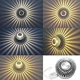 Bianco caldo Lampada da Parete Corridoio Applique LED Luce Effetto Plafoniera Disegno LD648
