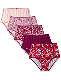 Marks & Spencer Women's Floral Brief (Pack of 5)