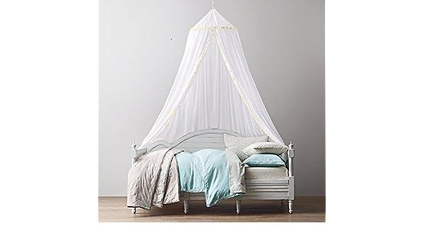B/éb/és Ledyoung Luxueux et /él/égant Moustiquaire phosphorescent en avec /étoiles lumineux Ciel de lit Filet pour adultes camping