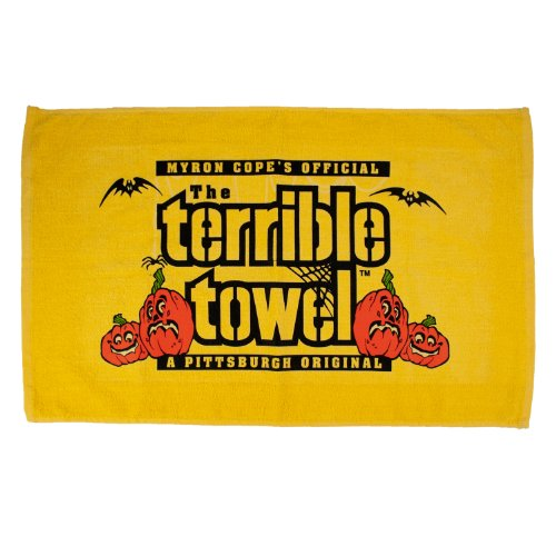 NFL Pittsburgh Steelers Terrible Handtuch, Halloween