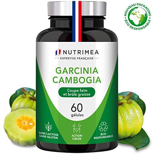 GARCINIA CAMBOGIA Pure - Coupe faim et brûleur de graisse naturel - 60% d'AHC - 60 gélules de 500...
