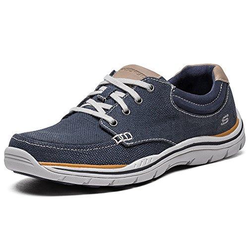 Skechers - Expectedorman, Scarpe da ginnastica Uomo Blu (Blu (Navy))