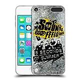 Head Case Designs Offizielle 5 Seconds of Summer Hell Grunge Sounds Good Feels Good Soft Gel Hülle für Apple iPod Touch 5G 5th Gen