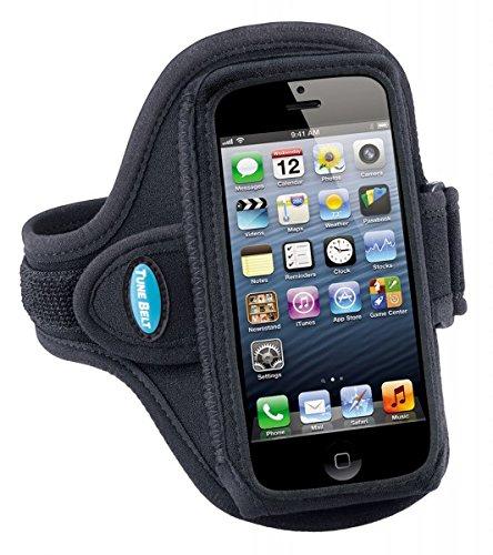 mpatibel mit iPhone SE 5 5S 5C & iPod Touch 5. 6. Generation, schweißresistent, AB87, Schwarz ()
