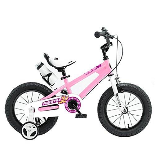 My-Wagen Kinder Fahrrad Leichte Balance Auto 12/14/16/18 Zoll Baby Mädchen Fahrrad 2-3-6-8 Jahre Alt Junge Kinderwagen Farbe Pink (größe : 18 inches)