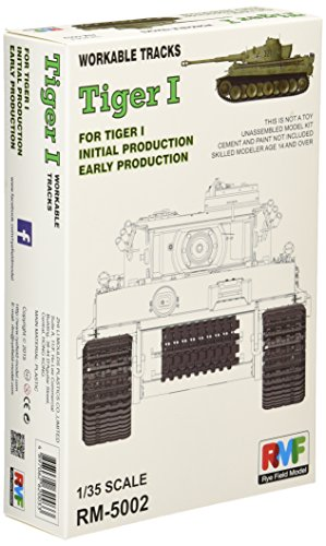 Rye Field RM-5002 - Accesorios de Modelado Tiger, Pistas de Trabajo
