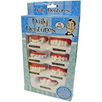 Daily Dentures - Novelty Teeth Collection (accesorio de disfraz)