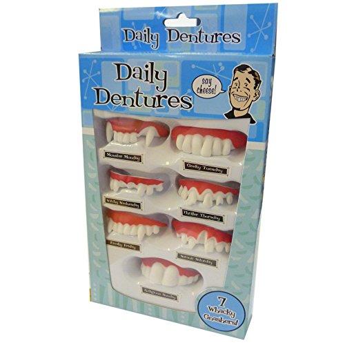 Ogni giorno le protesi dentarie denti divertenti Set