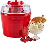 "Andrew James Ice Cream Maker - Voted ""Best Buy"" By Which? Magazine. 1.5 Litre - Red"