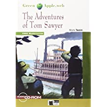 Green Apple: The Adventures of Tom Sawyer + audio CD/CD-ROM