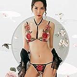 Bbl345dLlo Lingerie sexy donna hot per sesso, Costumi erotici della fasciatura del corpo di G String del corpo della biancheria intima sexy del fiore delle donne
