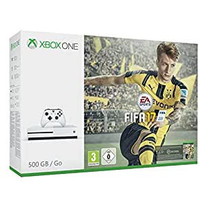 Xbox One S 500GB Konsole – FIFA 17 Bundle: Microsoft