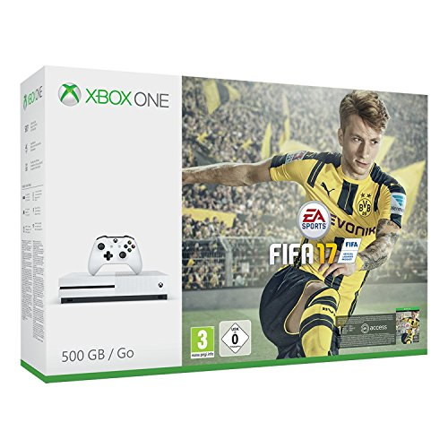 Xbox One S 500 GB + Fifa 17 [Bundle Limited] [Importación Italiana]
