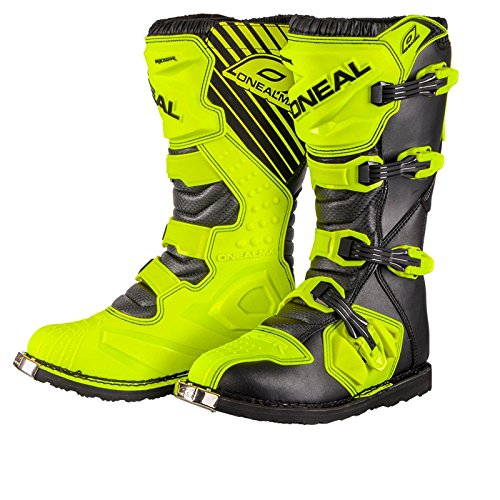 Preisvergleich Produktbild O'Neal Rider Boot MX Stiefel Hi-Viz Neon Gelb Motocross Enduro Motorrad, 0329-5, Größe 46