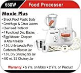 Inalsa Maxie Plus 650-Watt Food Processor