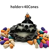 Best Aroma Incense Burners - Omonic Zen Garden Ceramic Censer, Backflow Variety Mixed Review