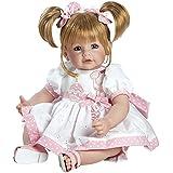 toizz 202090851cm Adora Temps pour enfant bébé Poupée d'anniversaire Inscription Happy Birthday