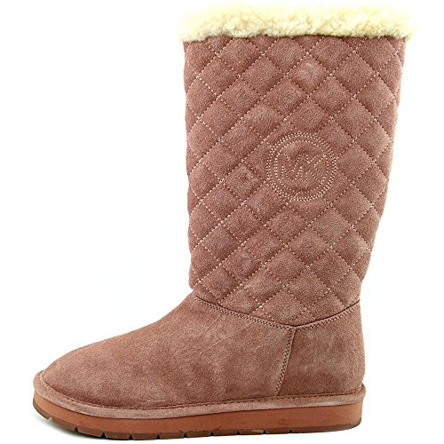 Michael Michael Kors Sandy Quilted Boot Daim Botte d'hiver Dusty Rose