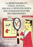 La responsabilitàcivile, penale, fiscale e deontologica dell'amministratore di condominio