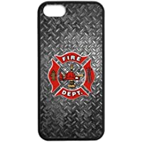 persoanl ized Design Fire Department iPhone 5,5S Case Custom Cover for iPhone 5,5S TPU