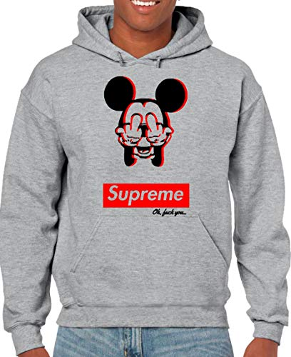 The Fan Tee Sudadera NIÑOS Divertidas Mickey Supreme
