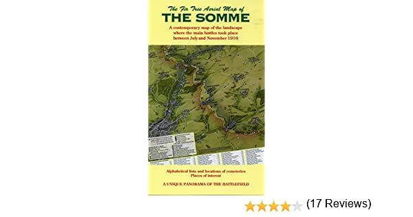 The Fir Tree Aerial Map of the Somme Amazoncouk Richard