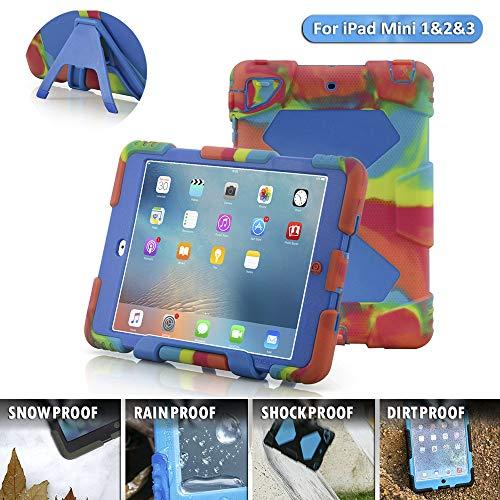 b8b7923f860 iPad Mini 1/2/3 Case, Aceguarder® for Children Slim Military Heavy