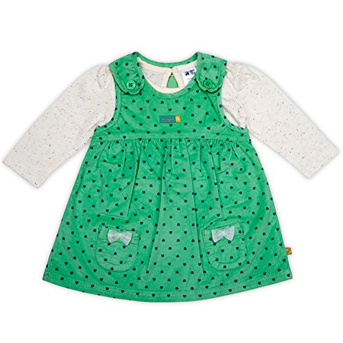 FS Mini Klub Cotton Dress (99889989507_Green_12 - 18 Months)  available at amazon for Rs.239