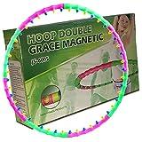 Hoop Double Grace Magnetic JS 60051kg massaggianti Calamite Fitness pneumatici abnehmen