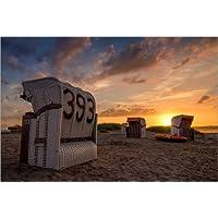 Strandkorb sonnenuntergang  Suchergebnis auf Amazon.de für: Strandkorb Nordsee BLAU/WEISS ...