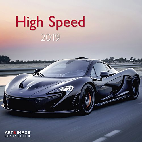High Speed 2019 - Sportautos, Autokalender, Motorsport  -  30 x 30 cm