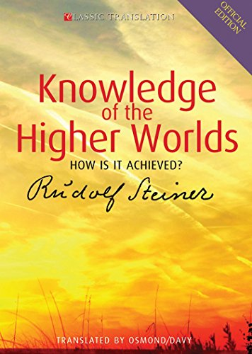Descargar PDF Gratis Knowledge of the Higher Worlds: How Is