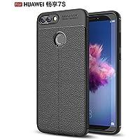 Shinyzone Weich TPU Silikon Zurück Hülle für Huawei P Smart,Ultra Dünn Flexibel [Schwarz] Litschi Textur Muster... preisvergleich bei billige-tabletten.eu