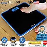 #10: Dr Trust (USA) Electronic Supernova Digital Personal Weighing Scale for Body Weight with Digital Thermometer and Measuring Tape